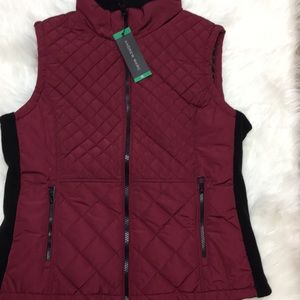 New Andrew Marc Quilted Vest/Jacket